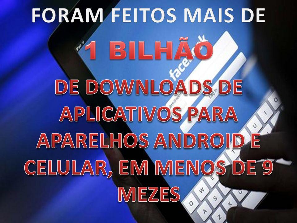 1 BILHÃO FORAM FEITOS MAIS DE