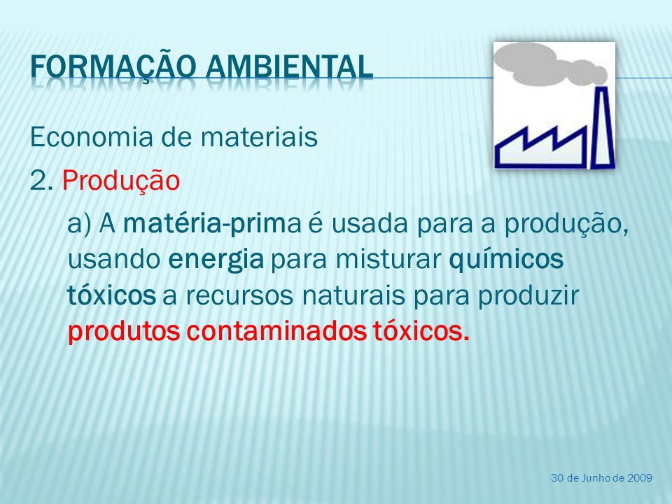 Formação ambiental
