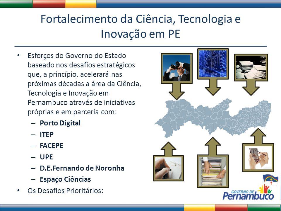 Fortalecimento da Ciência, Tecnologia e Inovação em PE