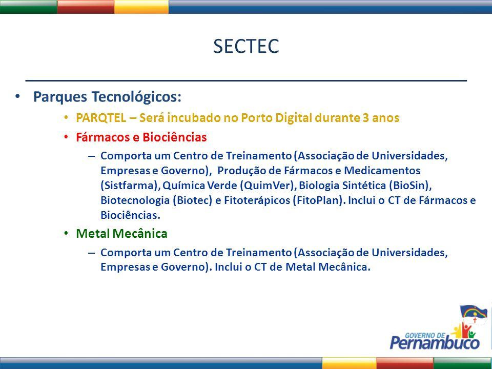 SECTEC Parques Tecnológicos: