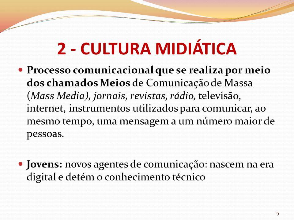 2 - CULTURA MIDIÁTICA