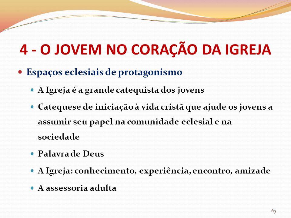 4 - O JOVEM NO CORAÇÃO DA IGREJA