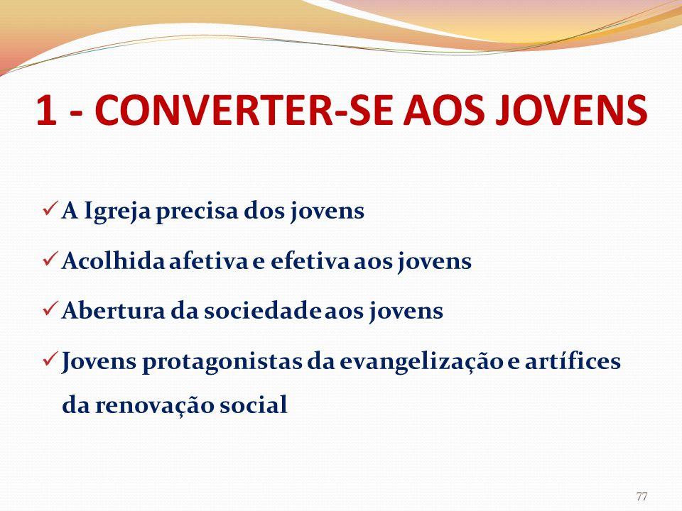 1 - CONVERTER-SE AOS JOVENS