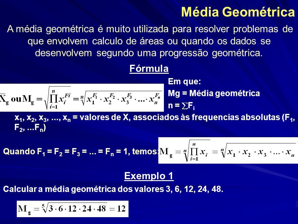 Média Geométrica