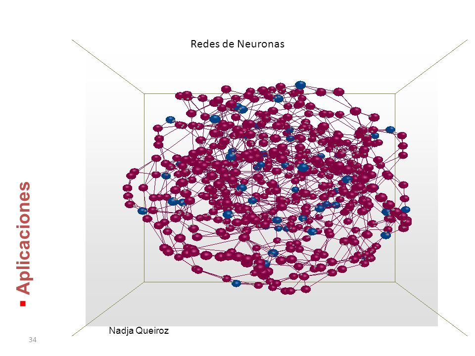 Redes de Neuronas Aplicaciones Nadja Queiroz