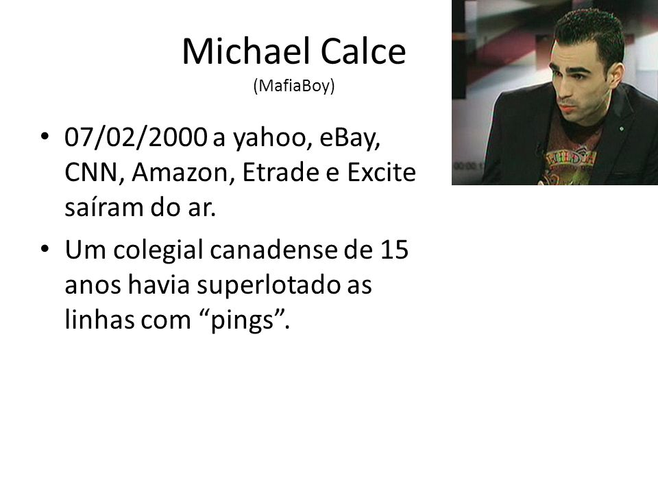 Michael Calce (MafiaBoy)