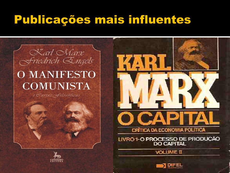 Publicações mais influentes