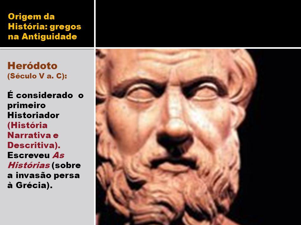 Origem da História: gregos na Antiguidade