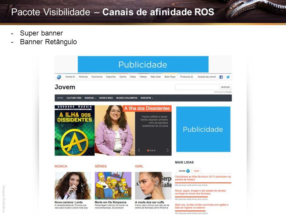 Pacote Visibilidade – Canais de afinidade ROS