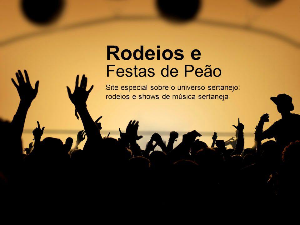 Rodeios e Festas de Peão