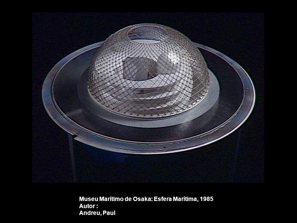 Museu Marítimo de Osaka: Esfera Marítima, 1985