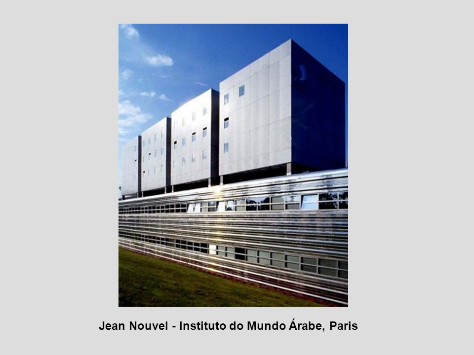 Jean Nouvel - Instituto do Mundo Árabe, Paris