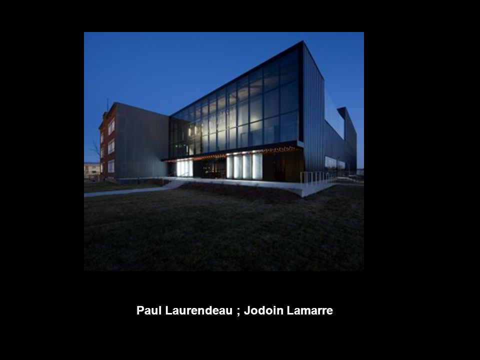 Paul Laurendeau ; Jodoin Lamarre