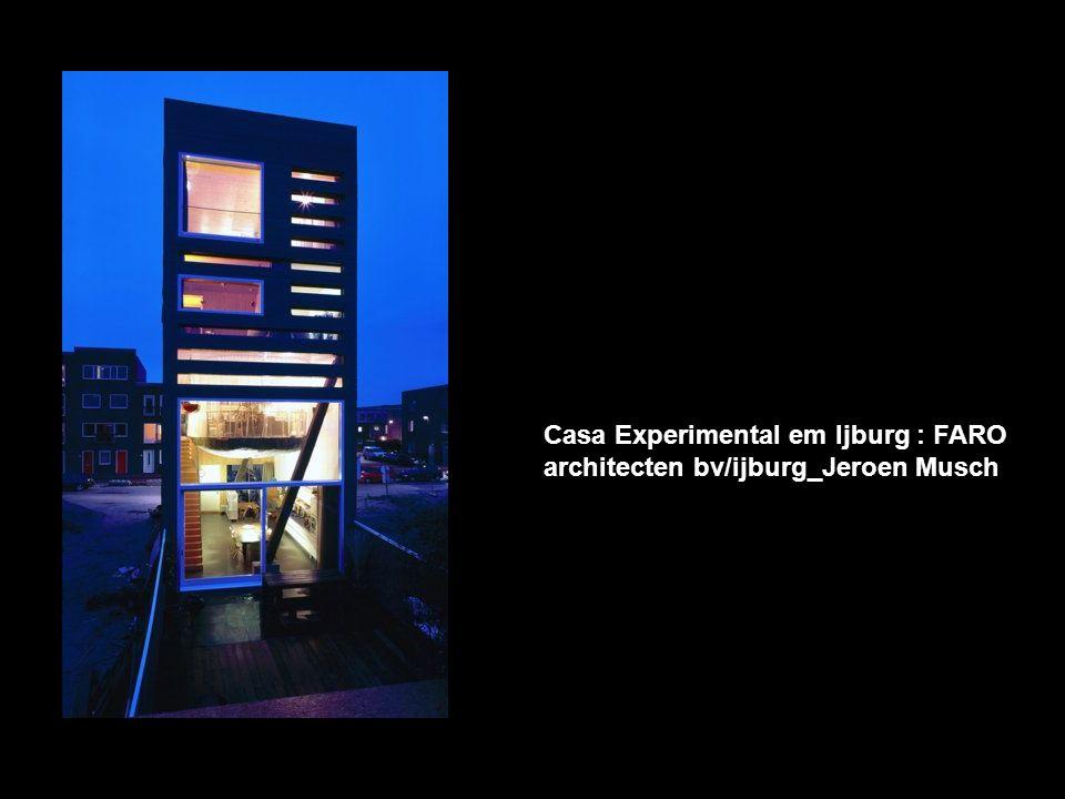 Casa Experimental em Ijburg : FARO
