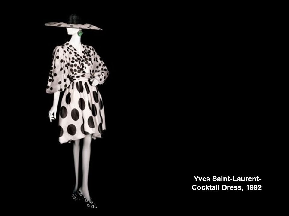 Yves Saint-Laurent- Cocktail Dress, 1992