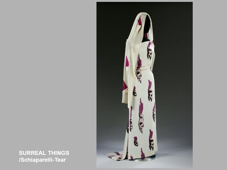 SURREAL THINGS /Schiaparelli-Tear