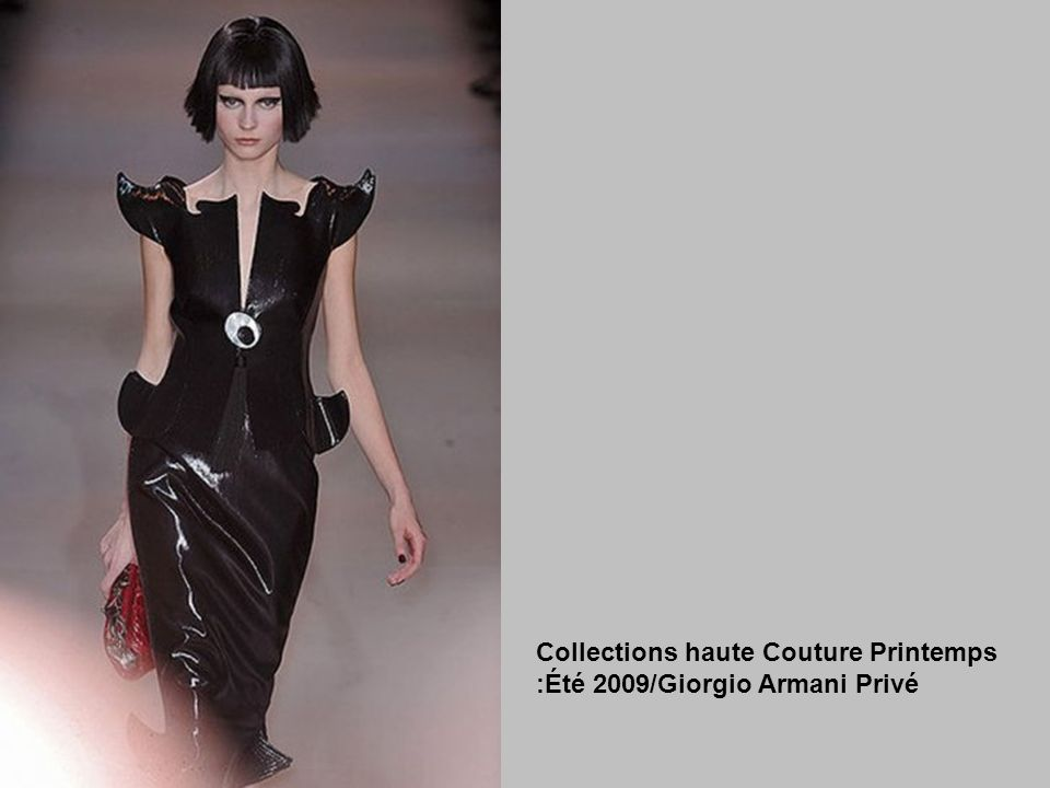 Collections haute Couture Printemps