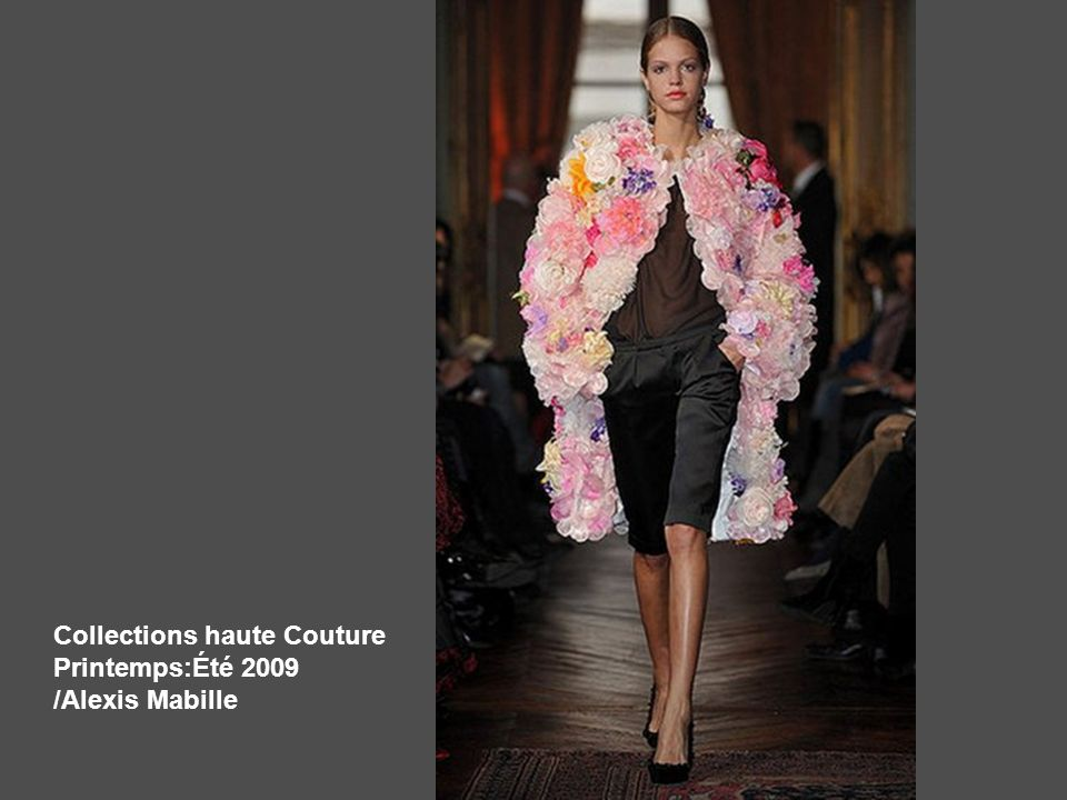 Collections haute Couture