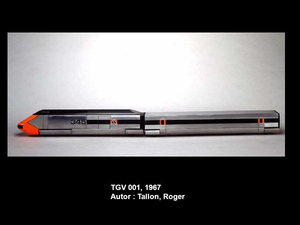 TGV 001, 1967 Autor : Tallon, Roger