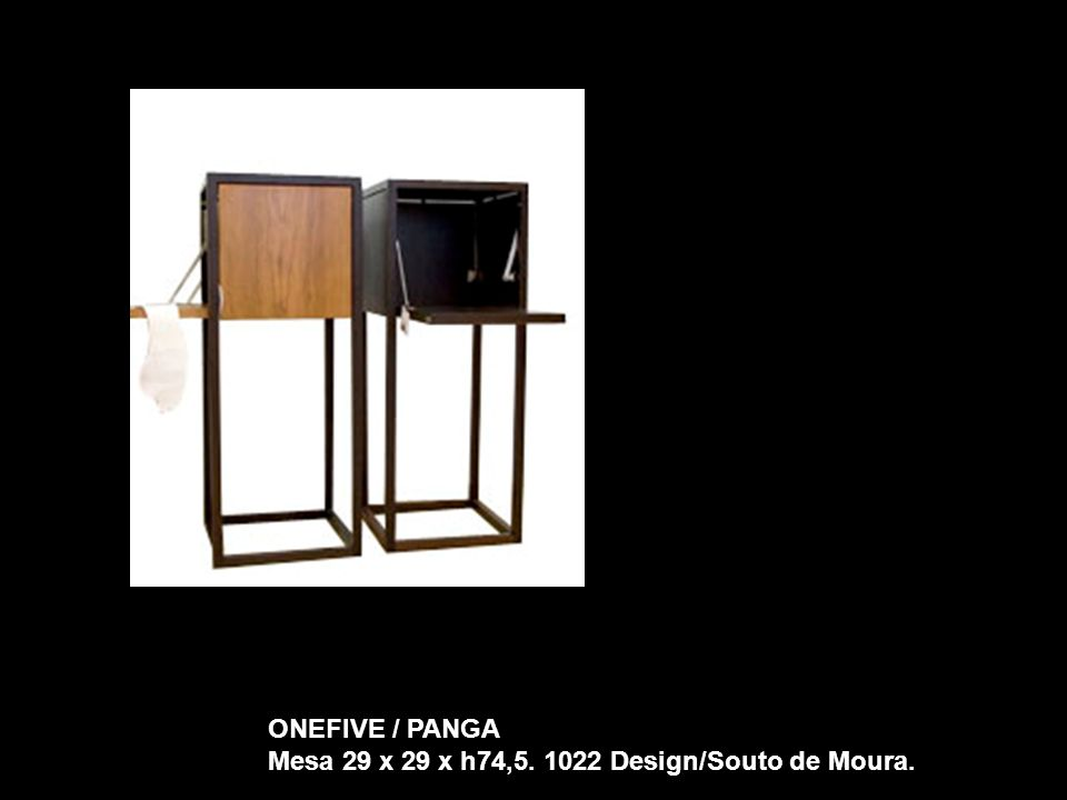 ONEFIVE / PANGA Mesa 29 x 29 x h74,5. 1022 Design/Souto de Moura.