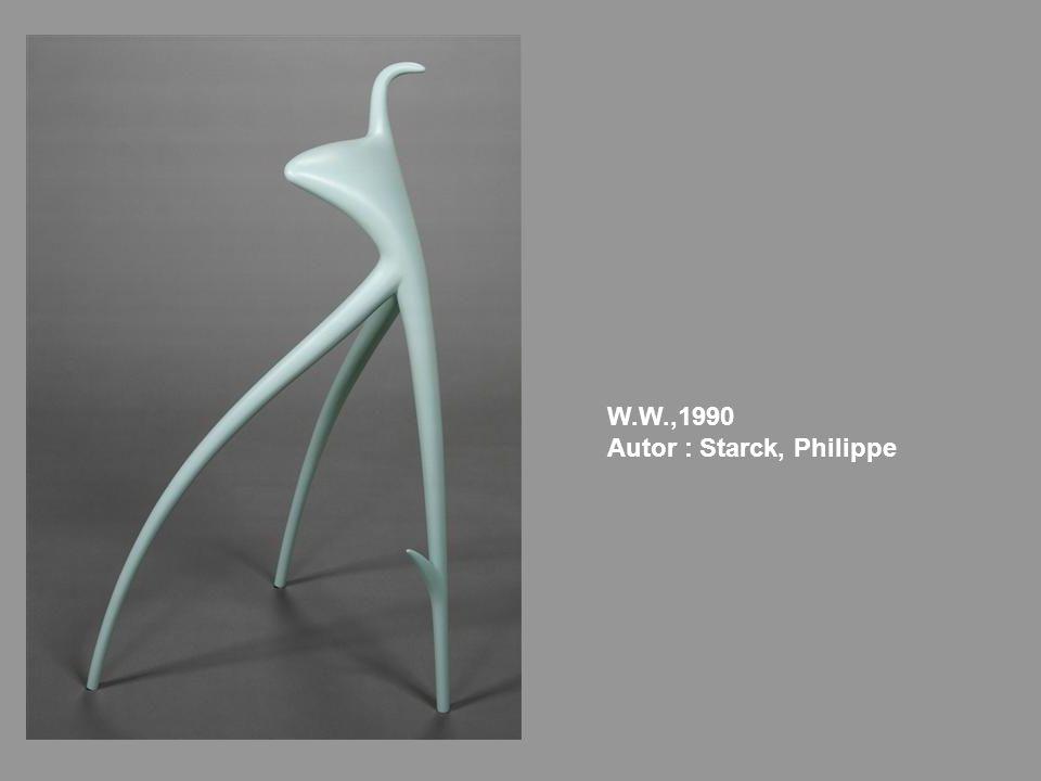 W.W.,1990 Autor : Starck, Philippe