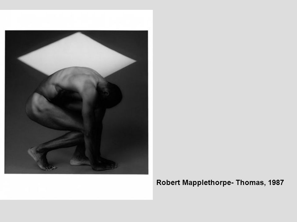 Robert Mapplethorpe- Thomas, 1987