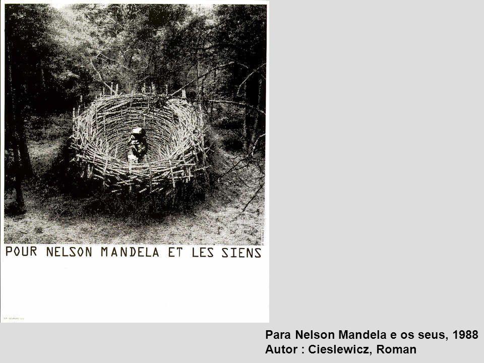 Para Nelson Mandela e os seus, 1988