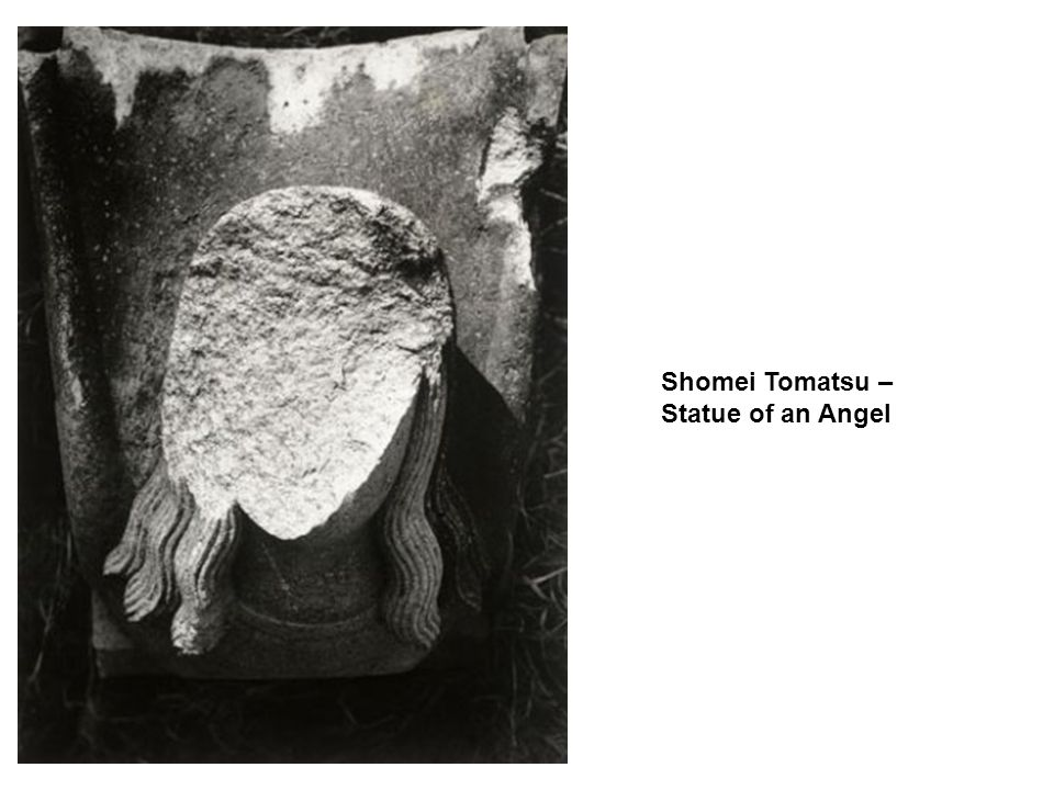Shomei Tomatsu – Statue of an Angel