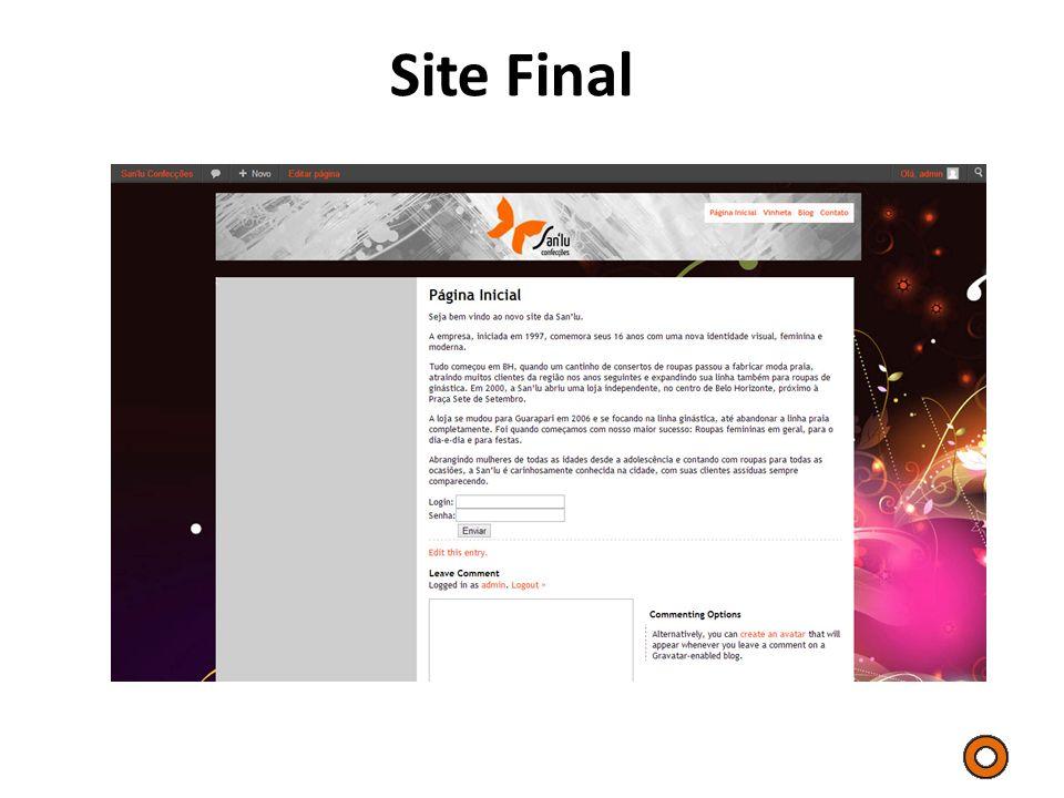 Site Final Outro elemento importante relacionado às apresentações é o cuidado com a pesquisa.