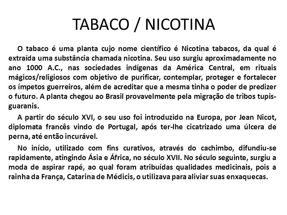 TABACO / NICOTINA