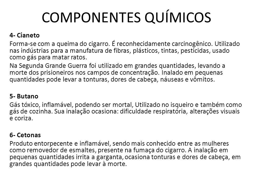 COMPONENTES QUÍMICOS 4- Cianeto