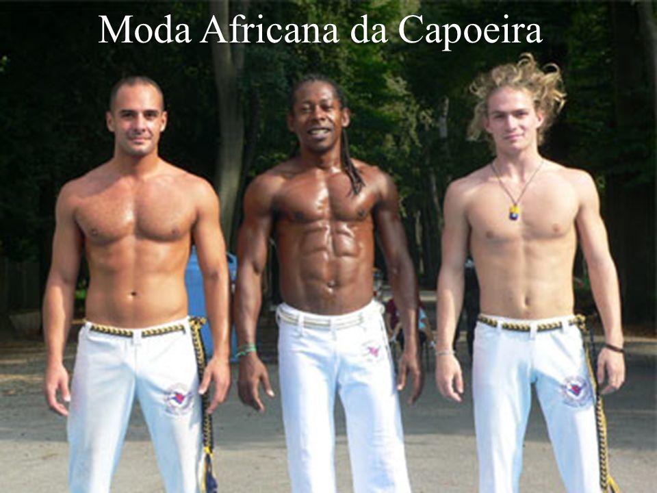 Moda Africana da Capoeira