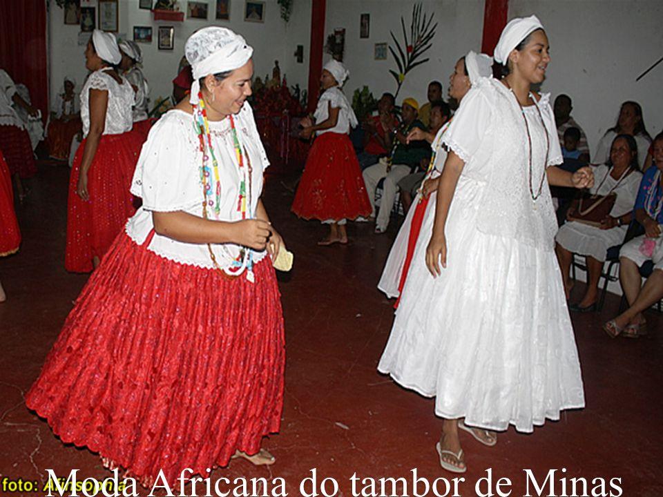 Moda Africana do tambor de Minas