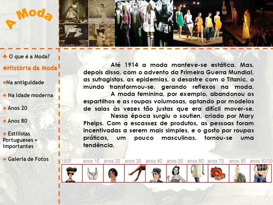 A Moda O que é a Moda História da Moda