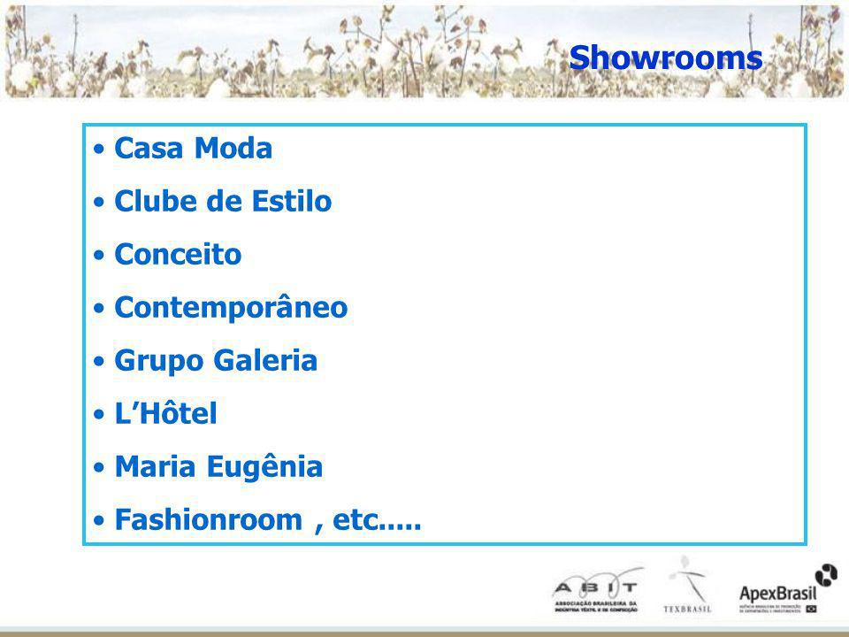 Showrooms Casa Moda Clube de Estilo Conceito Contemporâneo