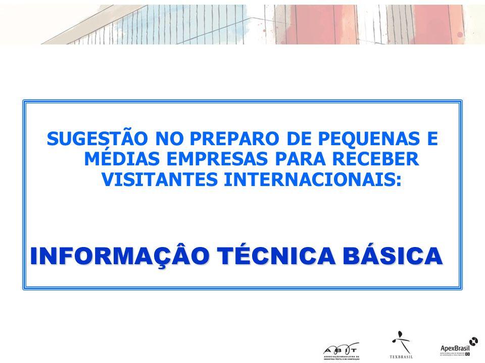 INFORMAÇÂO TÉCNICA BÁSICA