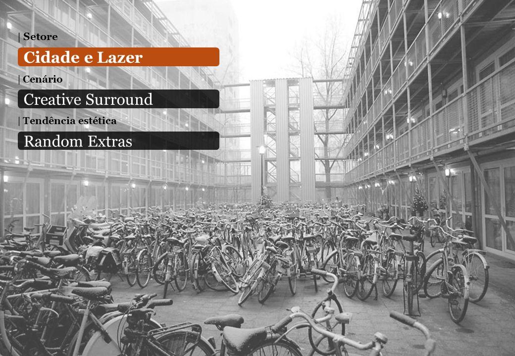 Cidade e Lazer Creative Surround Random Extras Setore Cenário