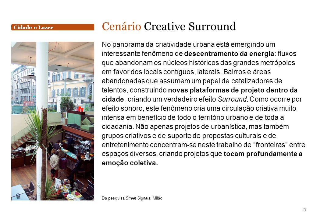 Cenário Creative Surround