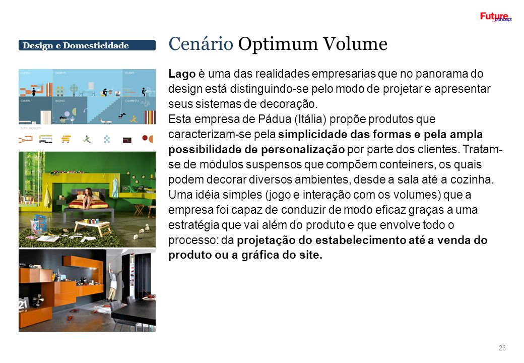 Cenário Optimum Volume