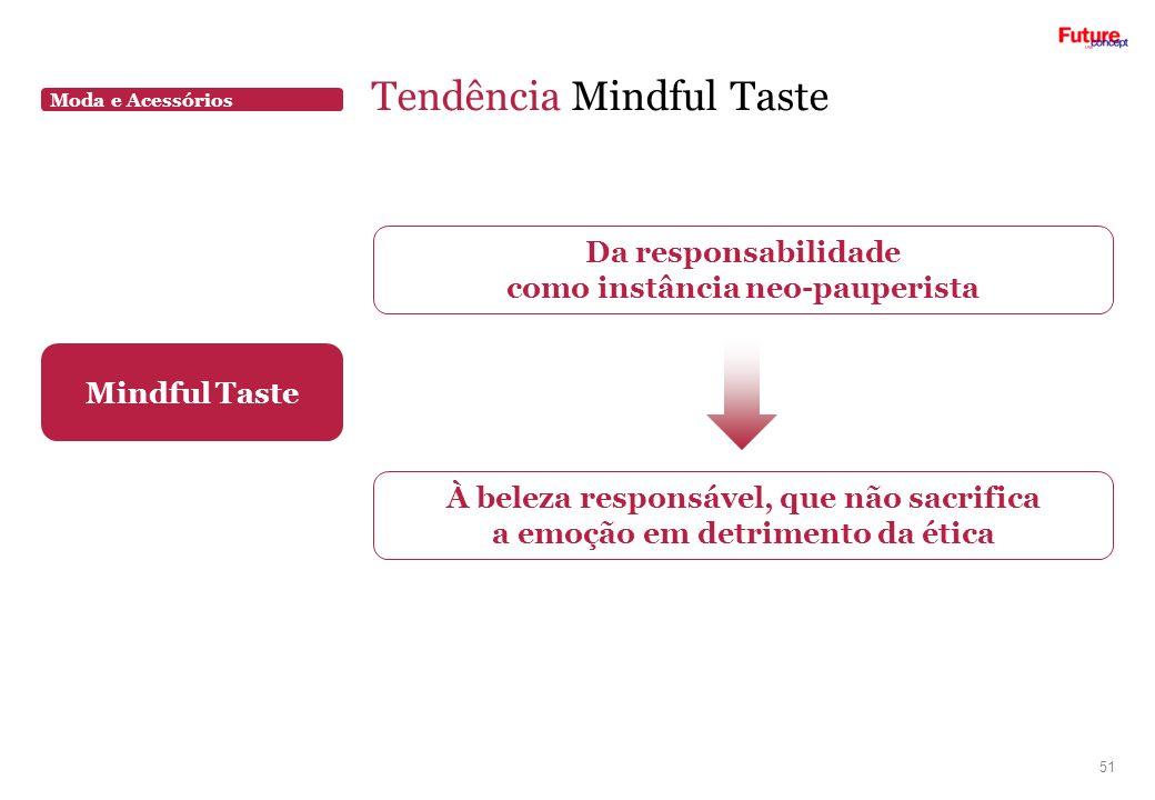 Tendência Mindful Taste