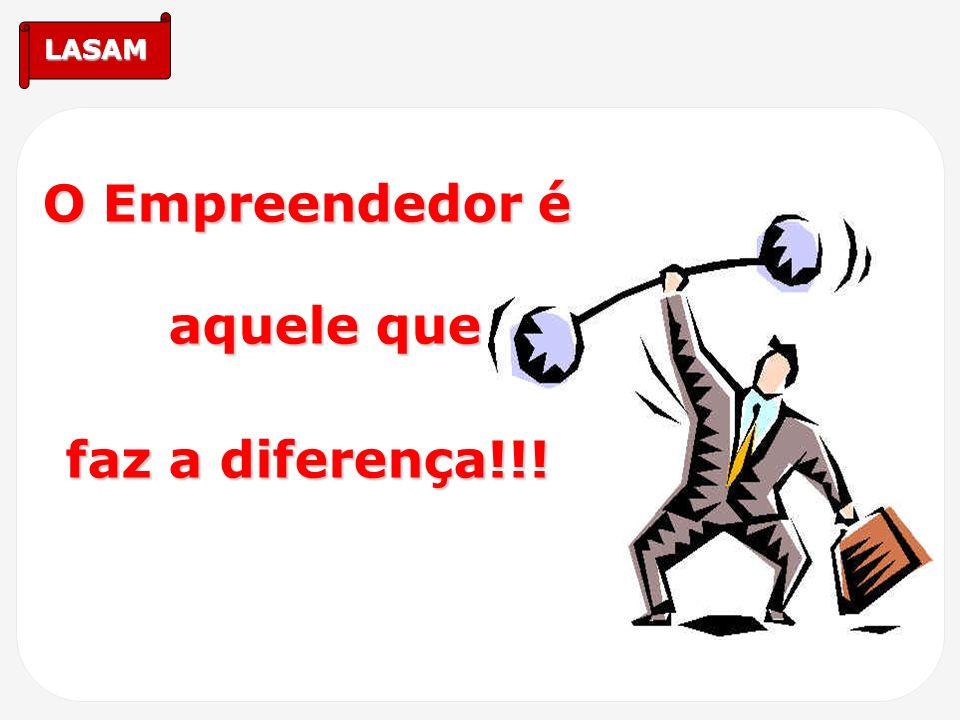 O Empreendedor é aquele que