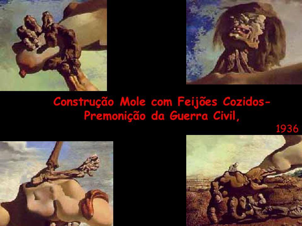 Construção Mole com Feijões Cozidos- Premonição da Guerra Civil,