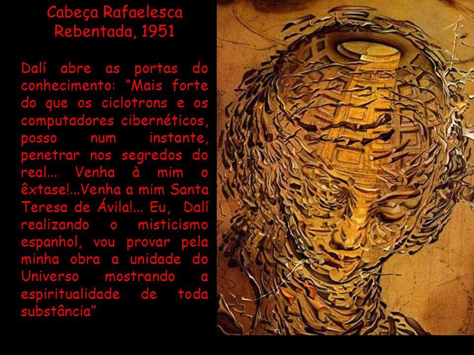 Cabeça Rafaelesca Rebentada, 1951
