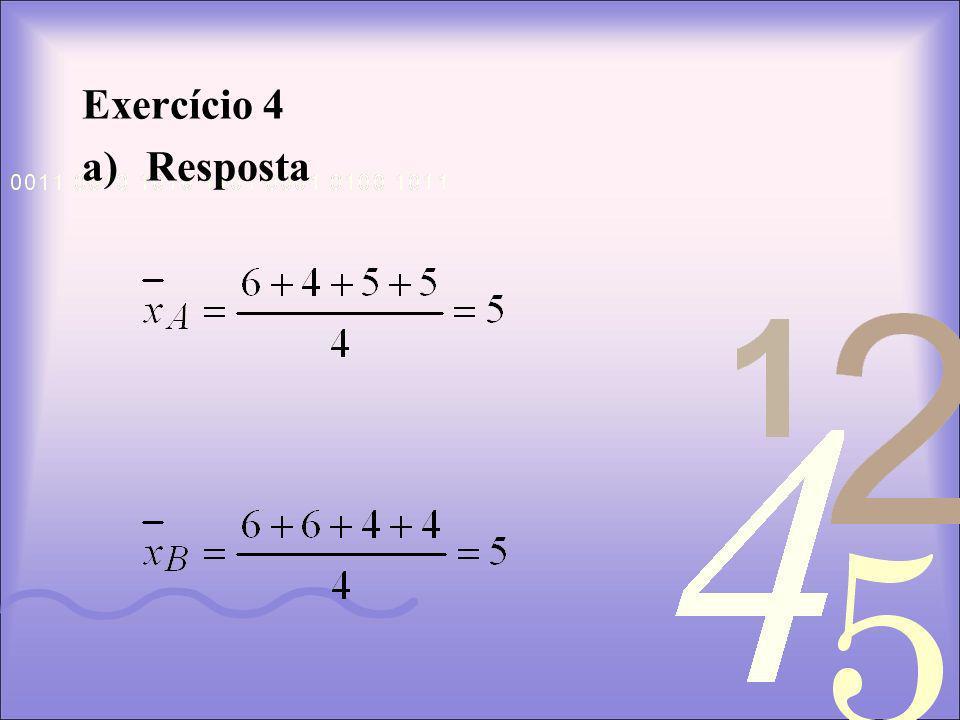 Exercício 4 Resposta