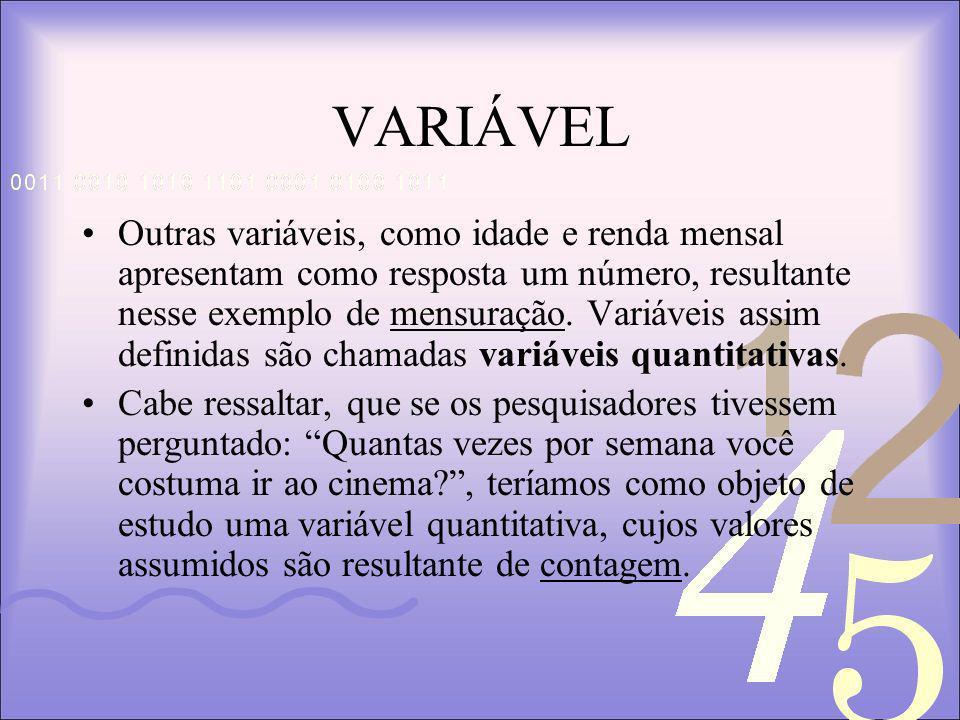 VARIÁVEL