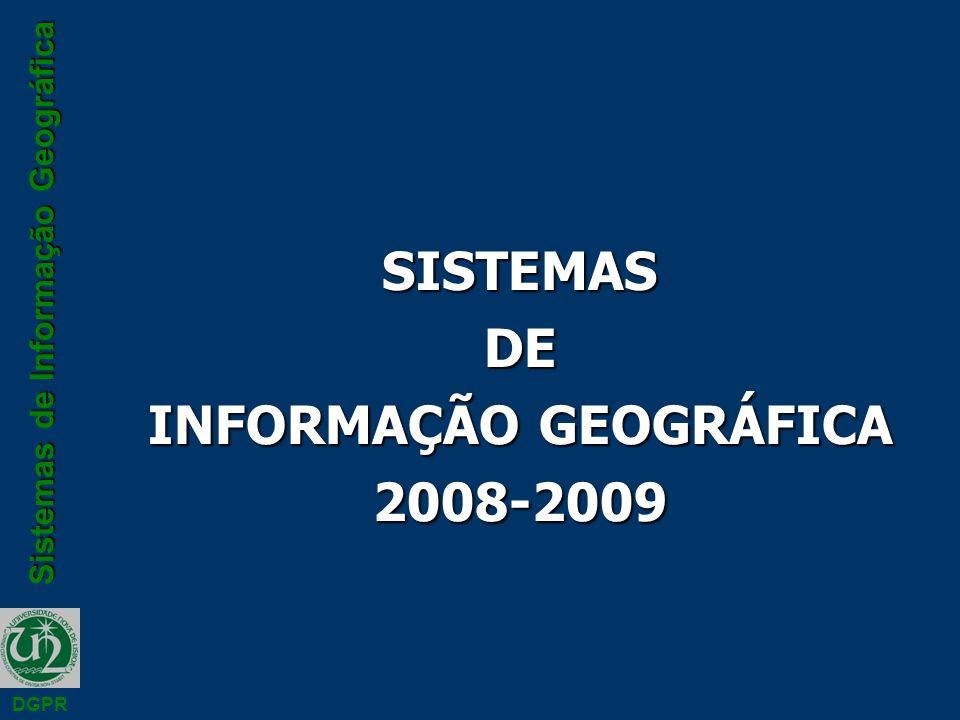 INFORMAÇÃO GEOGRÁFICA