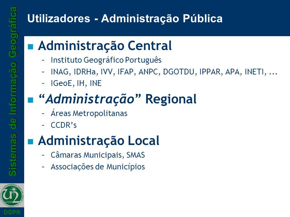 Utilizadores - Administração Pública
