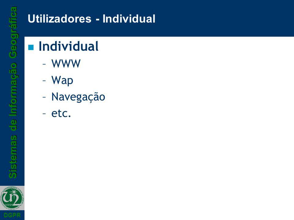 Utilizadores - Individual