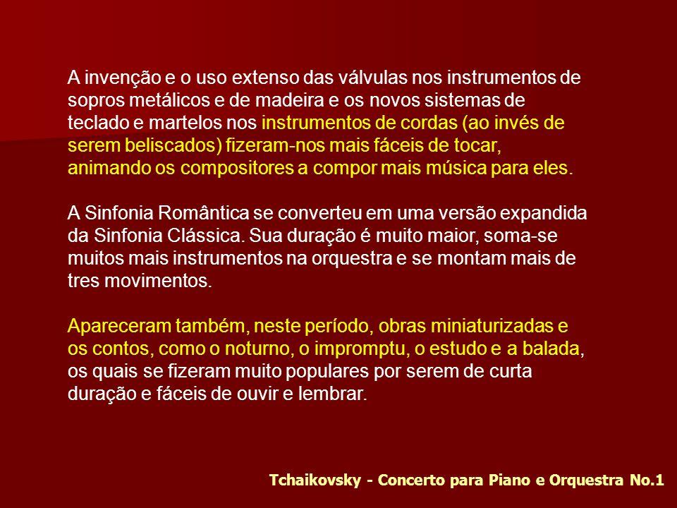 Tchaikovsky - Concerto para Piano e Orquestra No.1