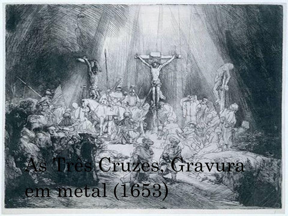 As Três Cruzes, Gravura em metal (1653)